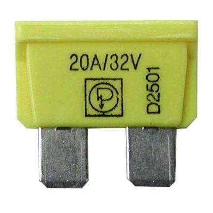 AGTECH Bezpiecznik płaski  10A czerwony | 50750295520 / opakowanie 50 szt.