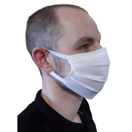 50 szt. Maska ochronna jednorazowa na gumkach
