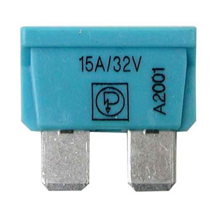 AGTECH Bezpiecznik płaski  10A czerwony | 50750295515 / opakowanie 50 szt.