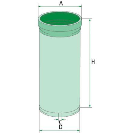 Filtr dokładny powietrza | AF25424