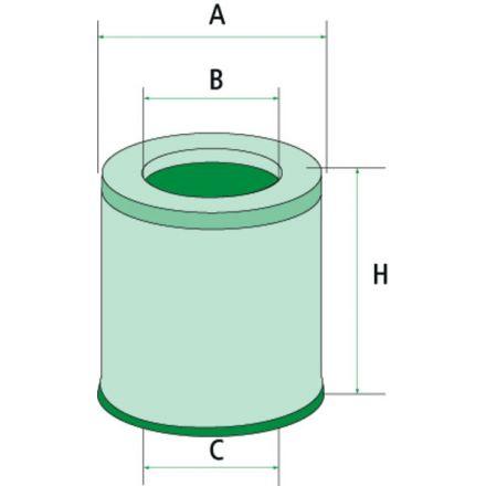 Filtr odpowietrzający | 565C75.4