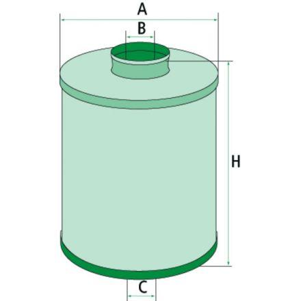 Filtr oleju hydraulicznego przekładni | 000.094.00.04