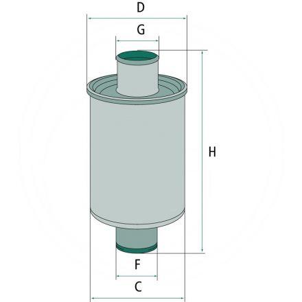 MANN Hydraulikfilter