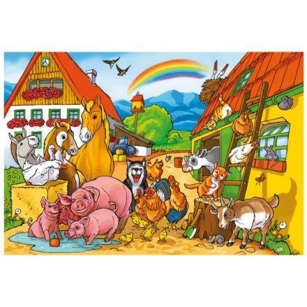 Schmidt Spiele Gospodarstwo pełne zwierząt
