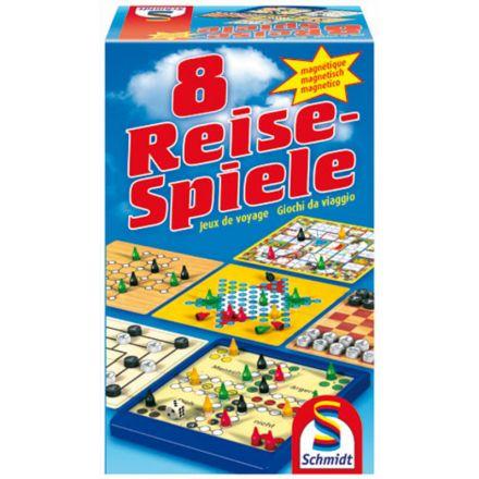 Schmidt Spiele Gry podróżne - 8 gier