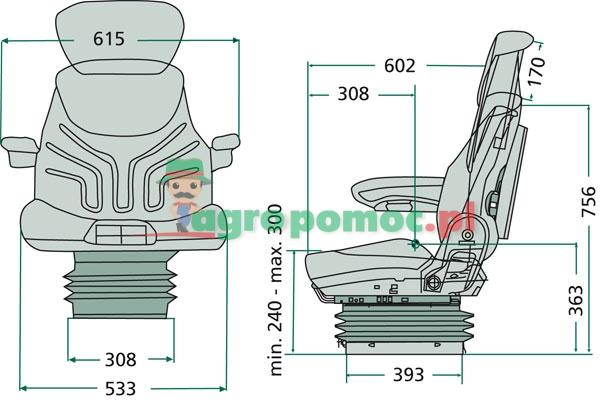 GRAMMER Siedzenie Maximo Comfort | zdjęcie nr 2