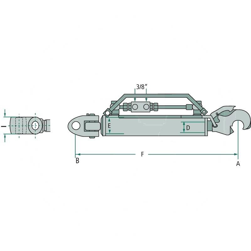 Łącznik górny hydrauliczny   zdjęcie nr 2