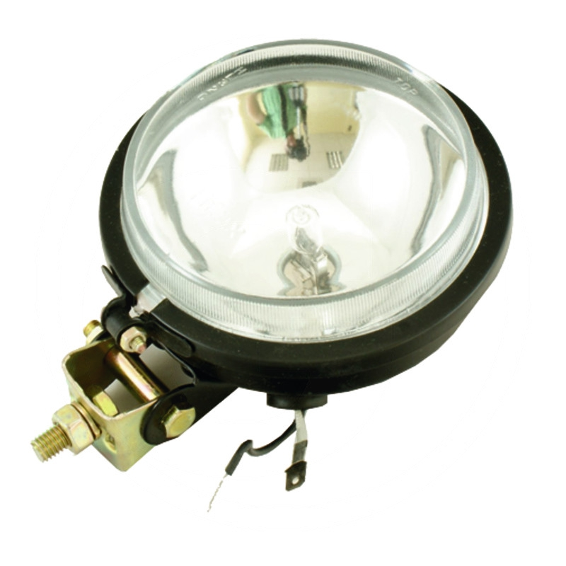 AGTECH Reflektor roboczy metalowy  z żarówką 105 mm H3 12V 55W | Ursus C-330 / C-360 | zdjęcie nr 1