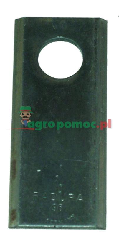 AGTECH Nożyk kosiarki 96x40x3 fi 19  paczka = 25 szt. produkcja RASSPE   5036/010450-2   zdjęcie nr 1
