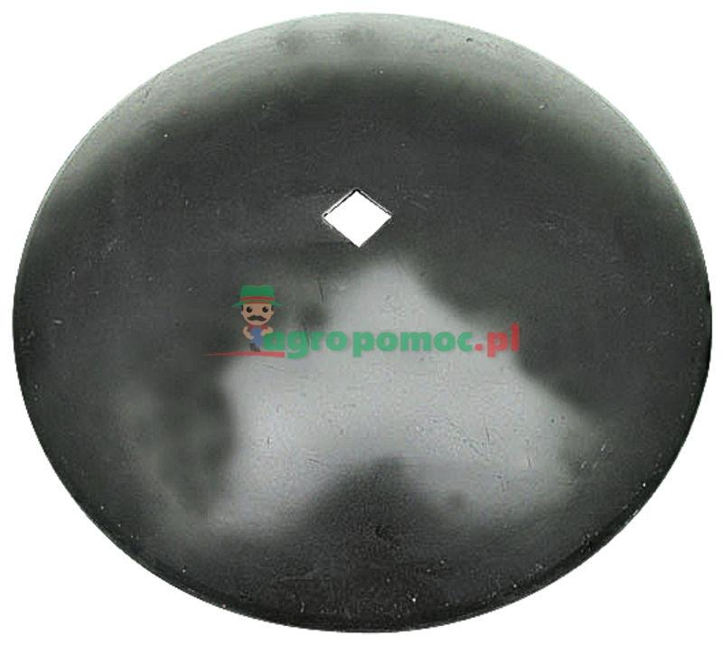 AGTECH Talerz gładki D = fi 460 mm,  C = otwór 30x30 mm, F = 45 mm,  S = 3 mm | 1201030040 | zdjęcie nr 1