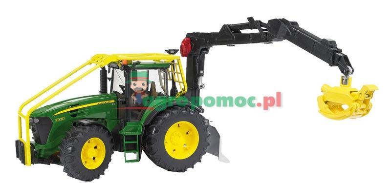Bruder John Deere 7930 Traktor leśny | zdjęcie nr 1