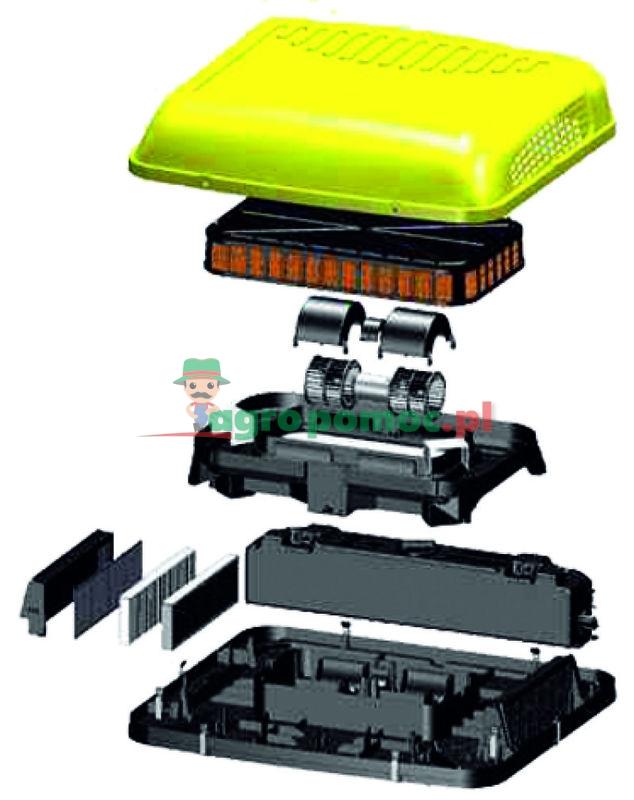 Klimatyzator RESFRI AGRO do ciągników i kombajnów | S 5 R 312V | zdjęcie nr 1