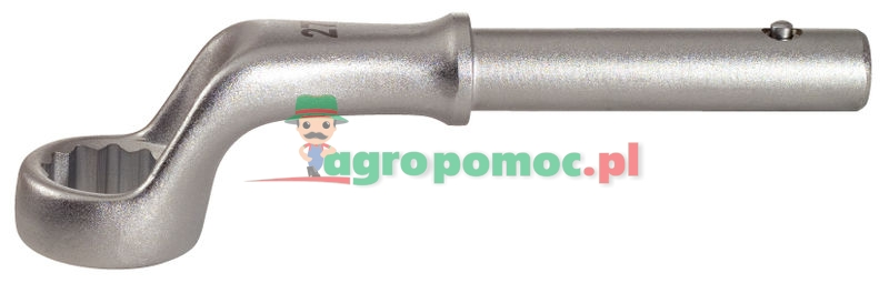 KS Tools CLASSIC Zugringschlüssel, gekröpft, 95mm | zdjęcie nr 1