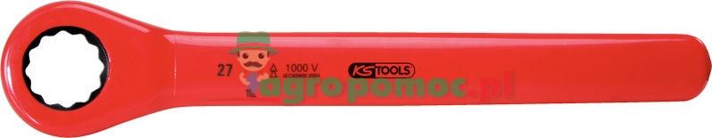KS Tools Isolierter Ratschenringschlüssel, 17mm | zdjęcie nr 1
