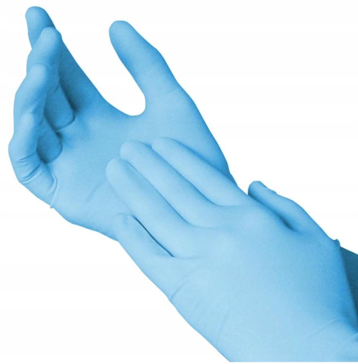 Rękawiczki nitrylowe bezpudrowe (rozmiar XL) 180 szt. | zdjęcie nr 1
