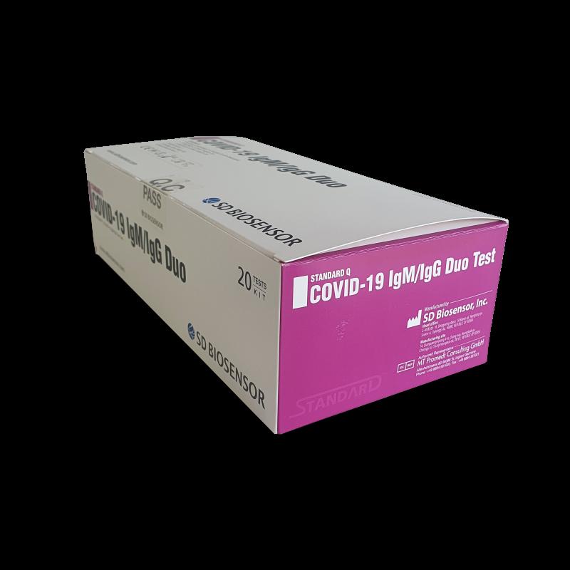 Test na Koronawirusa COVID-19 BIOSENSOR - 20 sztuk | zdjęcie nr 1