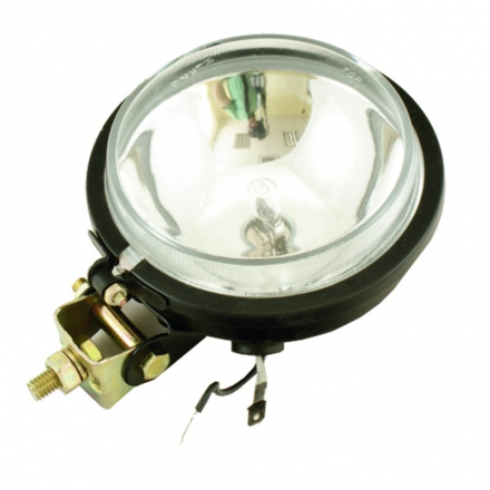 AGTECH Reflektor roboczy metalowy  z żarówką 105 mm H3 12V 55W | Ursus C-330 / C-360