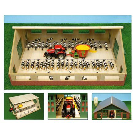 Kids Globe Obora wielostanowiskowa drewniana