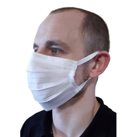 10 szt. Maska ochronna jednorazowa na gumkach