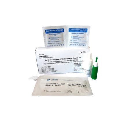 Test na Koronawirusa COVID-19 - 1 sztuka