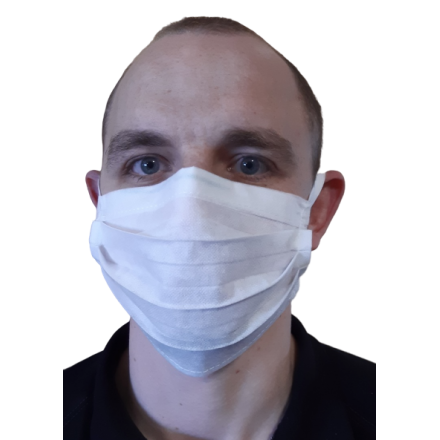 100 szt. Maska ochronna jednorazowa na gumkach