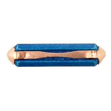 AGTECH Bezpiecznik topikowy  25A niebieski | 50750295036 / opakowanie 100 szt.