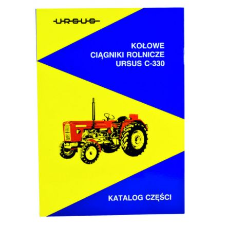 AGTECH Katalog ciągnik  Ursus C-330   Ursus C-330