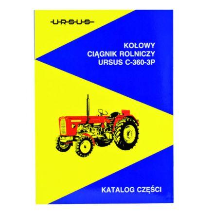 AGTECH Katalog ciągnik  Ursus C-360-3P   Ursus C-360-3P