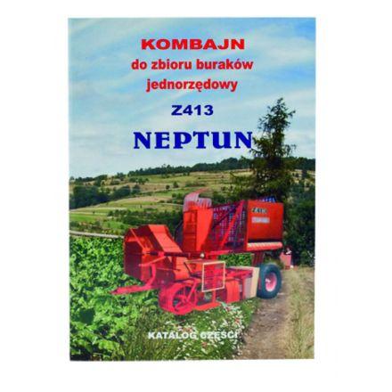 AGTECH Katalog kombajn buraczany Neptun Z-413 | Neptun Z-413