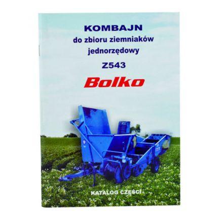 AGTECH Katalog kombajn ziemniaczany Bolko Z-543 | Bolko Z-543