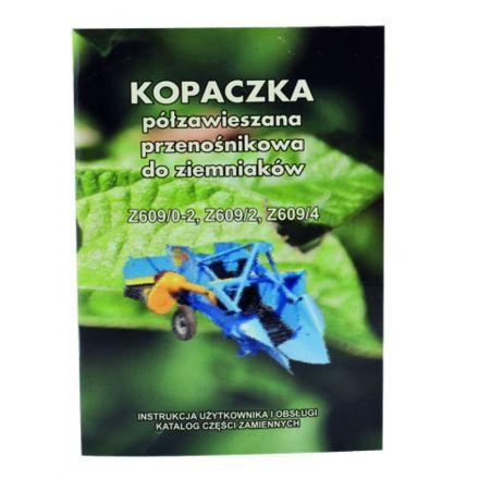 AGTECH Katalog kopaczka do ziemniaków Z-609/4 | Kopaczka Z-609/4