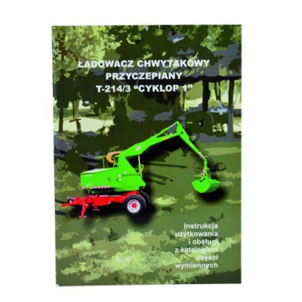 AGTECH Katalog ładowacz Cyklop T-214/3 | Cyklop T-214/3