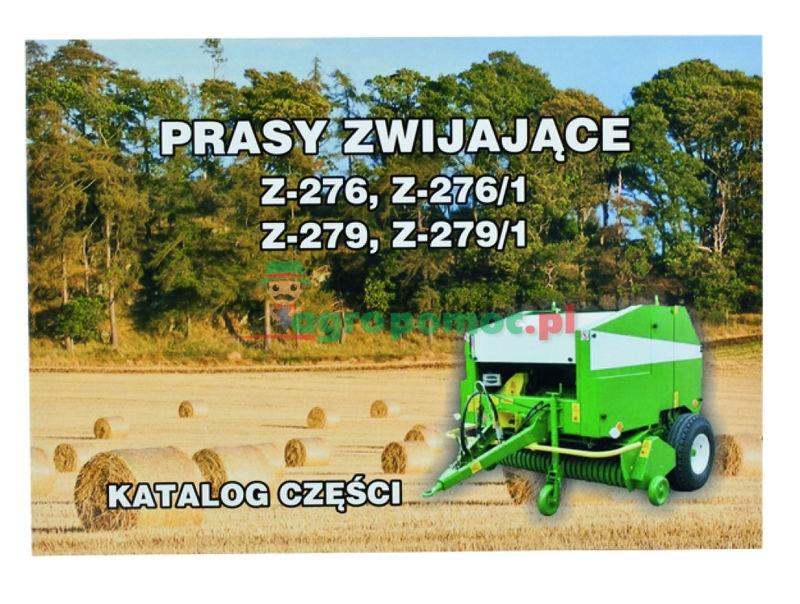 AGTECH Katalog prasa zwijająca Z-276 / Z-276/1 / Z-279 / Z-279/1 | Prasa Z-276 / Z-276/1 / Z-279 / Z-279/1
