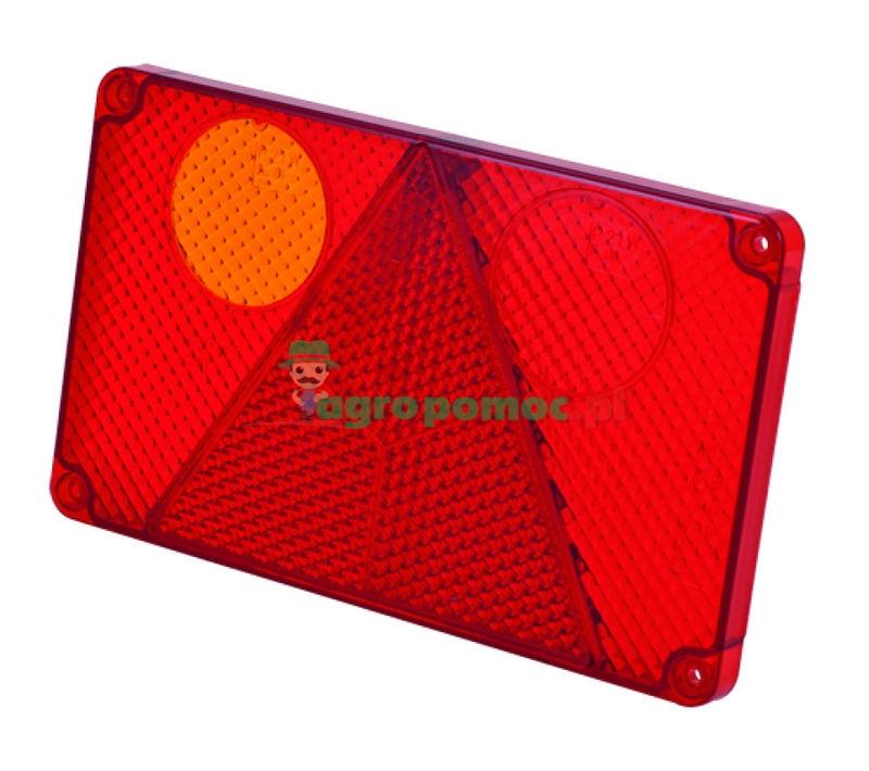 AGTECH Klosz lampy zespolonej lewy W21L z obrysem przeciwmgielnym   116 / WAŚ