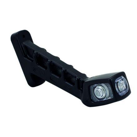 AGTECH Lampa obrysowa diodowa prawa W48 12V | 238P / WAŚ