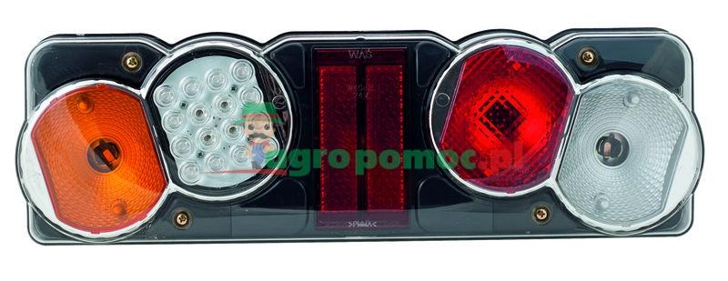 AGTECH Lampa tylna zespolona diodowa lewa W40dzL 12V | 257 / WAŚ