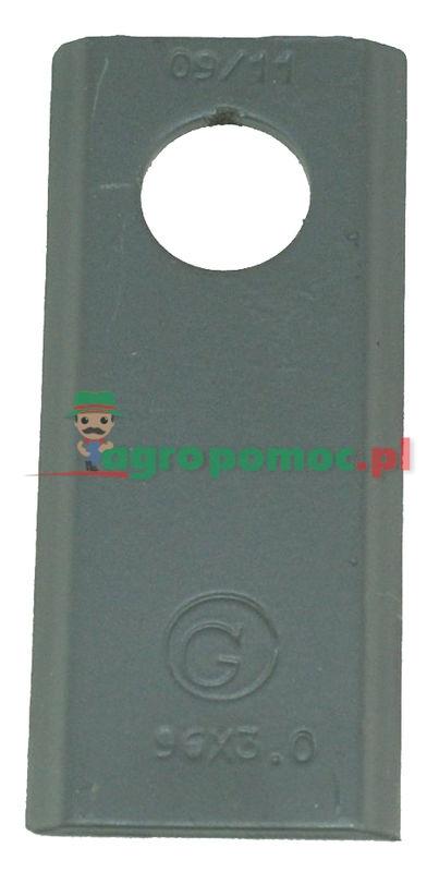 AGTECH Nożyk kosiarki 96x40x3 fi 19 paczka = 25 szt. produkcja Orginał | 5036/010450 / 52506561542/25