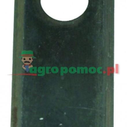 AGTECH Nożyk kosiarki 96x40x3 fi 19  paczka = 25 szt. produkcja RASSPE | 5036/010450-2