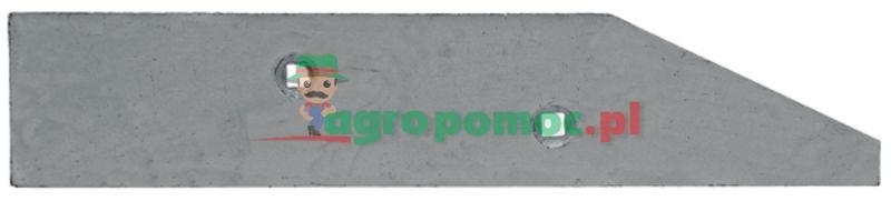 AGTECH Płoza krótka prawa Vis224 Typ : Vis Ibis 140B | 1067/92-003/0