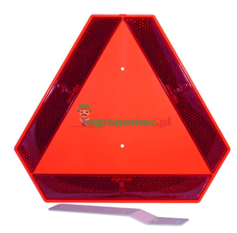 AGTECH Tablica ostrzegawcza plastikowa ze wspornikiem | 30 223