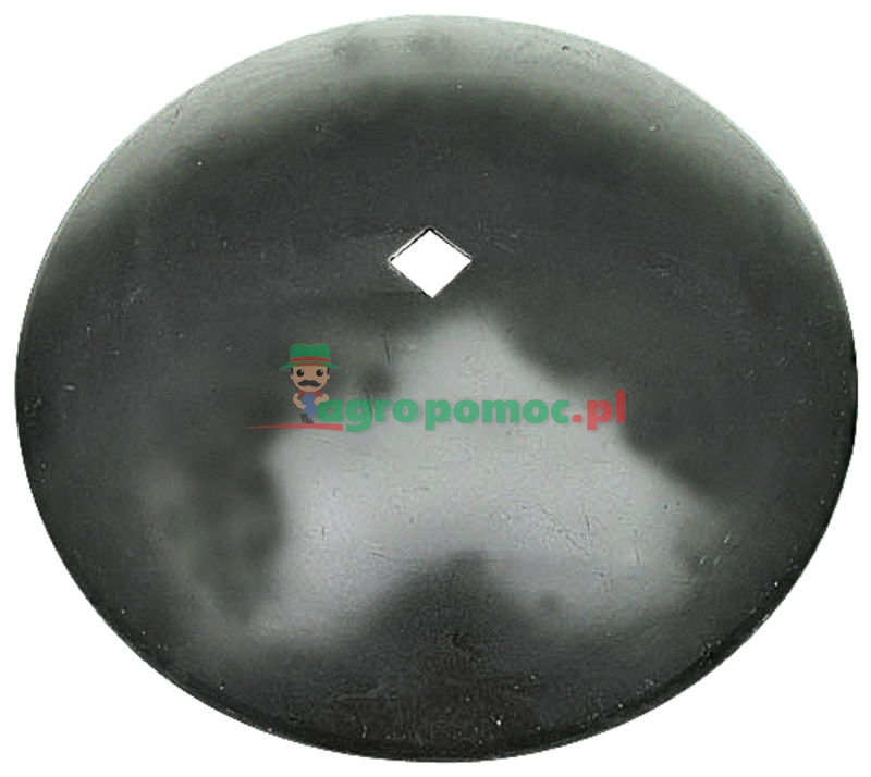 AGTECH Talerz gładki D = fi 460 mm,  C = otwór 30x30 mm, F = 45 mm,  S = 3 mm | 1201030040