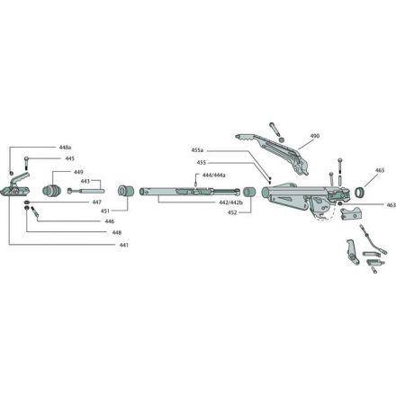 BPW Fahrzeugtechnik Dźwignia hamulca ręcznego | 05.203.03.46.0