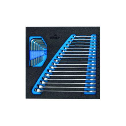 GEDORE Klucz szczękowo-oczkowy - zestaw | 1500 CT2-7