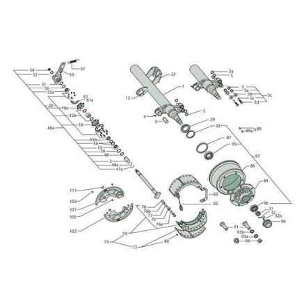 Gigant Zestaw - połączenie- rozpieracz krzywkowy