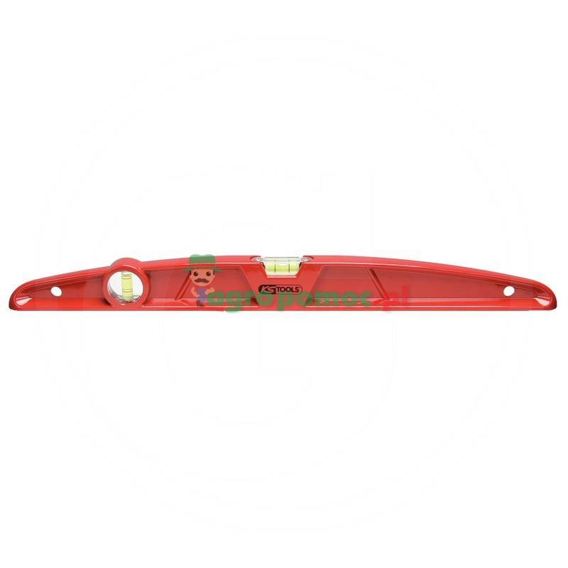 KS Tools Ciezka poziomnica z odlewu aluminiowegow formie trapezowej, magnetyczna, 800mm