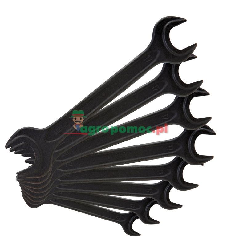 KS Tools Doppelmaul-Kraftschlüssel-Satz, 10-tlg., 6x7-30x32mm