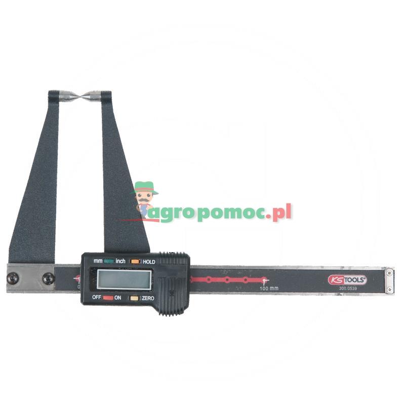 """KS Tools Elektroniczny przymiar tarczowy LKW,0-100/4-4"""",0.01mm/94,5mm"""