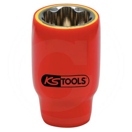 """KS Tools Izolowana nasadka, 22mm, 1/2"""""""
