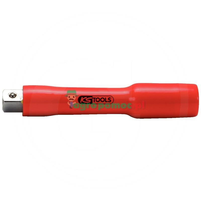 """KS Tools Izolowana przedluzka z blokada srubowa,250mm, 3/8"""""""