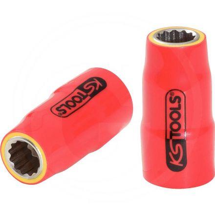 """KS Tools Izolowane gniazdo, 6mm, 3/8"""""""
